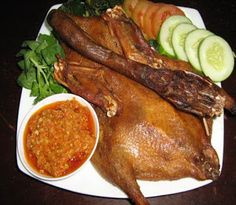 Malay Food, Indonesian Food, Chicken Wings, Seafood, Pork, Turkey, Meat, Sea Food, Kale Stir Fry