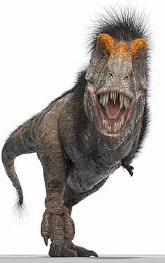 T. rex makeover (2018).