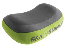 sea to summit aeros pillow premium curved internal baffles create contours that cradle your head inflate with just a couple of breaths