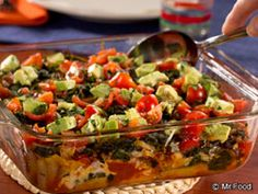 Southwestern Chicken Casserole - This diabetic-friendly casserole recipe is a hit at dinner time. With chicken, avocado, and more, this healthy recipe will make you feel good about taking seconds.