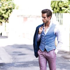 Marco Taddei sur Instagram : Colors ✌️ with @yansimmon and @lubiamitalia www.simplymrt.com #menswear #style #look #outfit #gentleman #dapper #fashion #fashionblogger #beitalian #summer
