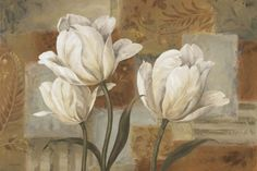 decoração quadros para sala de estar quadros com tulipas - Pesquisa Google