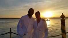 Sunset by Lake Garda