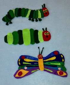 The Very Hungry Caterpillar Felt