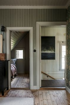 my scandinavian home: An Idyllic Swedish Country Home is Restored to its Former Glory Country House Interior, Home Interior, Old Country Houses, Cottage, Swedish House, Scandinavian Home, Cozy House, Architecture, Cheap Home Decor
