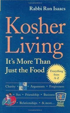Kosher Living Its More Than Just the Food by Rabbi Ron Isaacs 20050325 ** Check this awesome product by going to the link at the image.