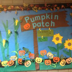 How about a pumpkin patch visual for the Watch Us Grow membership theme?