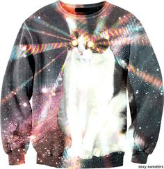 the 3 best things ever: the universe, cats, and beams of light from their eyes