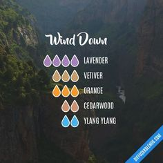 Wind Down — Essential Oil Diffuser Blend