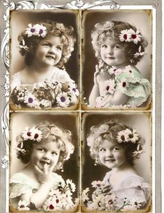 If you want to buy or collect vintage costume jewelry, learn what to look for and where to look. There is something for everyone who is interested in collecting vintage jewelry. Éphémères Vintage, Images Vintage, Photo Vintage, Decoupage Vintage, Vintage Crafts, Vintage Labels, Vintage Ephemera, Vintage Girls, Vintage Pictures