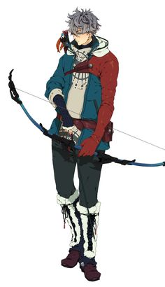 Codename: Archer Eddy Molen is the right hand and lover of Susanoo, hes an expert marksman as well as on of the only people able to calm her down. He resides in Peru