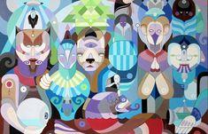 "Juxtapoz Magazine - Fernando Chamarelli ""Secret Code"" @ Thinkspace Gallery"