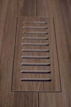 Make A Flush Insert/floor Vent Cover, Without The Air Holes.