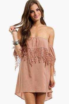 Esmerelda Off Shoulder Dress $40 on Wanelo