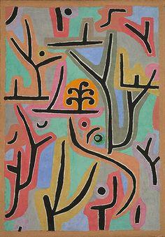 Park Near Lu (1938). Paul Klee.