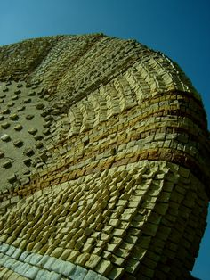 """Detail of Mohamed Banawy """"Douar Misr"""" (Tahrir Square) 2011 200 x 200 cm Stone. Mosaico Oggi:  Interview with Mohamed Banawy"""