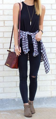 """Not so much the """"ripped jeans"""" look, but maybe the booties can stay. We'll see."""