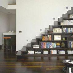 Bookshelf/stairs