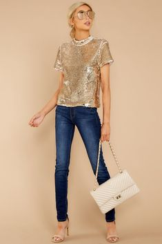 8417c6575049c 27 Best Sequin top images