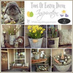 Little Brags: Need Easter Decor Inspiration?