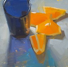 Into Blue Shadows, by Carol Marine. Colors... and the way she portrays light.