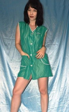 Nylons, Blouse, Shirt Dress, Staff Uniforms, Slip, Apron, Overalls, Nostalgia, Rompers