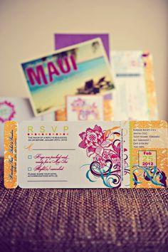 36 Best Hawaiian Wedding Invitations Images Valentines Day