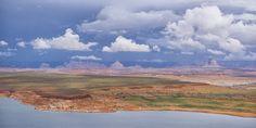 Antelope Island - Wahweap Marina Page Arizona Grenze Utah Lake Powell USA amerikanisches Monsunsystem Antelope Canyon Dwoc.