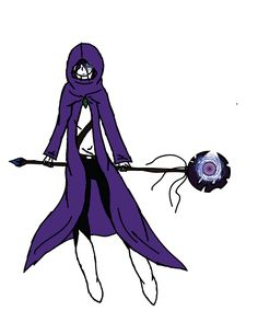 got bored didnt wanna shade. This is a fanasty mage design for consi.