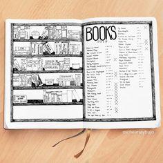 Bullet Journal Book Spread (14 Ideas!) - Productive & Pretty