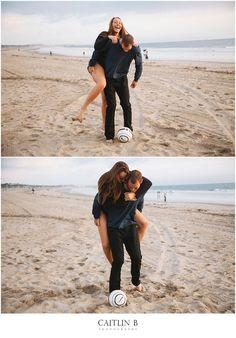 #engagement #photography  #soccer Santa Monica Pier, California