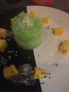 Her har vivært og spist ikveld, va på en måte litt godt og ikke spise Thai mat 😊 Drinken ble server i en liten mugge så det va spesielt og ikke noe man ser ove