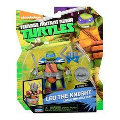 Leonardo The Knight LARP Teenage Mutant Ninja Turtles Action Figure