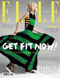 nice Elle México & Latam Janeiro 2015 | Ash Walker  [Cover]