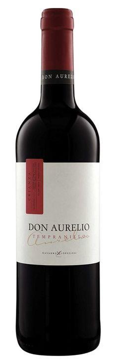 Don Aurelio Tempranillo Crianza. Oro en el 43º Concurso de Calidad de Vinos de la Feria del Campo de Manzanares (FERCAM) #vinosmaximum