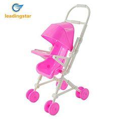 Pink Baby Stroller Infant Carriage Stroller Trolley Nursery Toys
