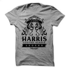 TEAM HARRIS LIFE TIME MEMBER LEGEND 2015 DESIGN - #tommy #college sweatshirts. MORE INFO => https://www.sunfrog.com/Pets/TEAM-HARRIS-LIFE-TIME-MEMBER-LEGEND-2015-DESIGN.html?id=60505