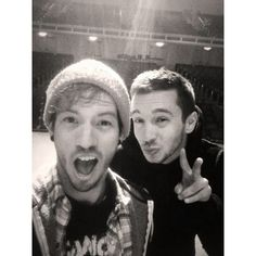 Tyler Joseph Josh Dun twenty one pilots skeleton clique power to the... ❤ liked on Polyvore featuring twenty one pilots, people and photos
