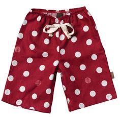 Looks so cute with red bird onesie or long sleeve tee!  Also has a matching kercheif bib.  www.mybabypeanut.com