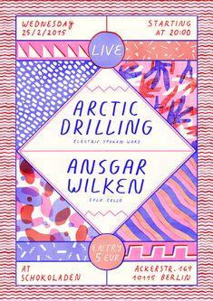 Raúl Soria || Arctic Drilling & Ansgar Wilken LIVE at Schokoladen