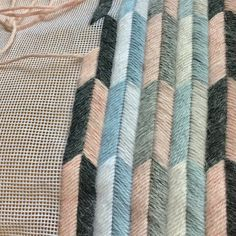 chevron bargello