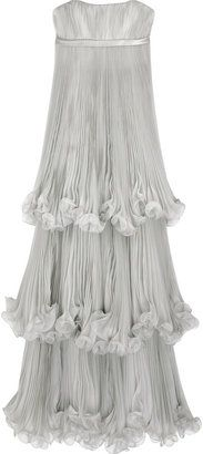 ShopStyle: Marchesa Tiered organza gown