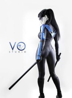 Nightwing is my favorite comic-book character. With that in mind, I was floored by Linda Le's Lady Nightwing cosplay. Cosplay Dc, Best Cosplay, Cosplay Girls, Cosplay Costumes, Robin Cosplay, Amazing Cosplay, Nightwing Cosplay, Nightwing Costumes, Dc Comics