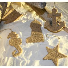 @Adrienne Putrow I bet we could make these too.  Sand, glue, cookie cutters, voila!