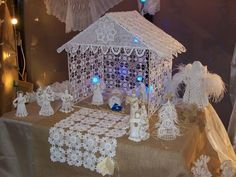 Crochet Christmas Ornaments step by step Presepio free pattern