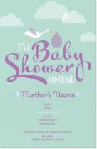 baby shower blue Invitations & Announcements