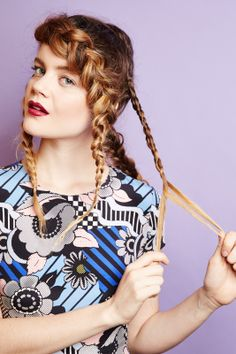 4 Dirty-Hair 'Dos To Try Today #refinery29  http://www.refinery29.com/dirty-hairstyles#slide8  You'll end up with four total braids.