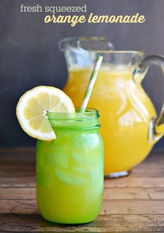 Fresh Squeezed Country Orange Lemonade Recipe