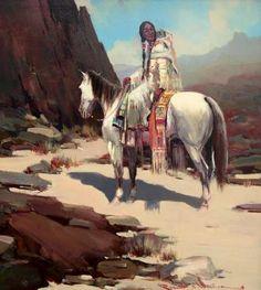 "Robert Waggoner ""Waiting"" - Southwest Gallery: Not Just Southwest Art."