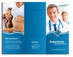 Science Chemistry Tri Fold Brochure Template Brochures - Medical brochure templates free